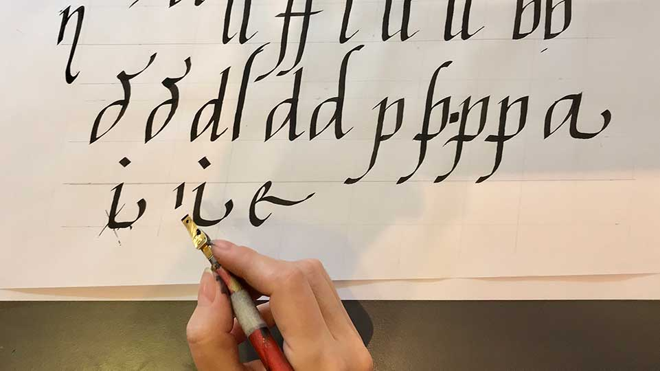 Calligrafia - Studio Arti Floreali