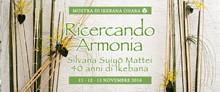 Mostra - Ricercando Armonia - Silvana Mattei - 2016