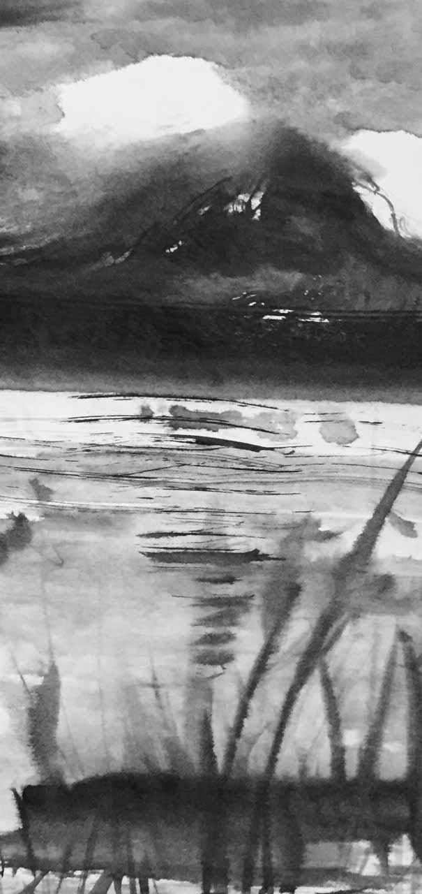 Pittura Sumi - Massimo Gobbi