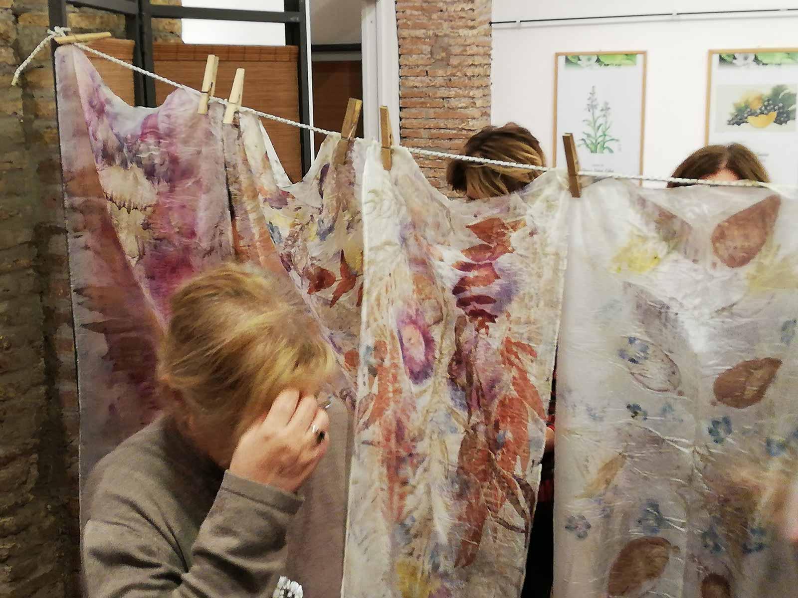 Laboratorio Creativo - Sciarpe Floreali