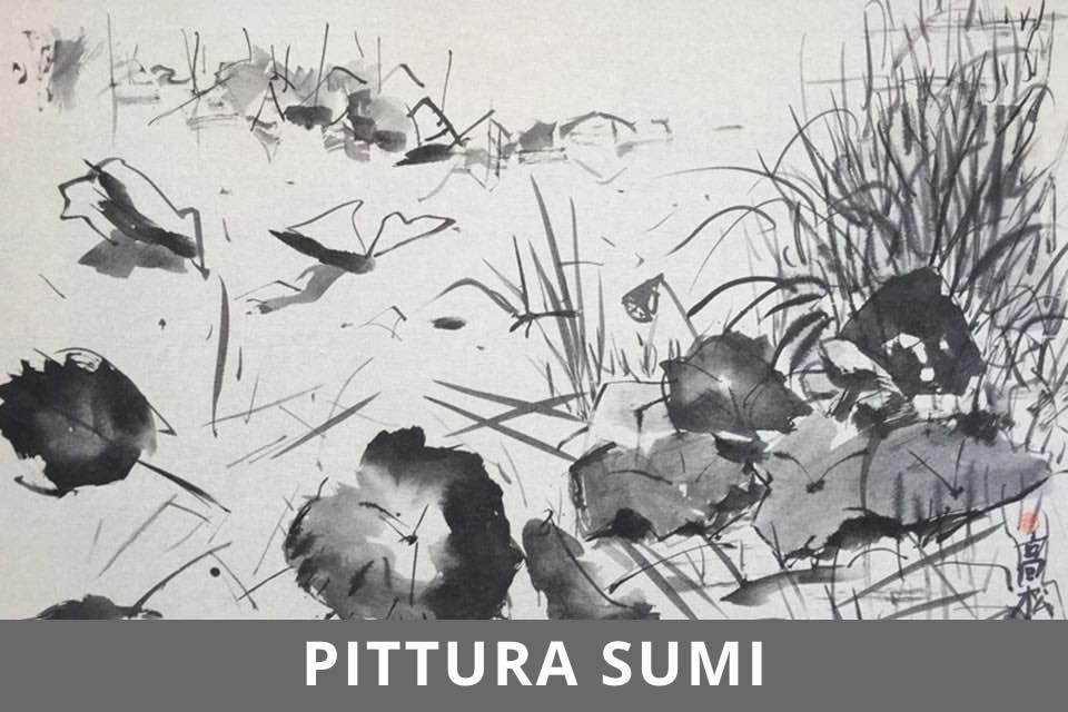 Pittura Sumi - Studio Aperto - Ottobre 2020 - Bottone