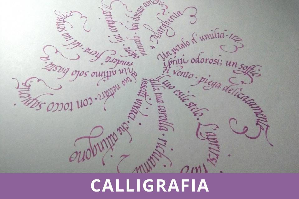 Calligrafia - Laboratori - Scrittura Cancelleresca - Ottobre 2021