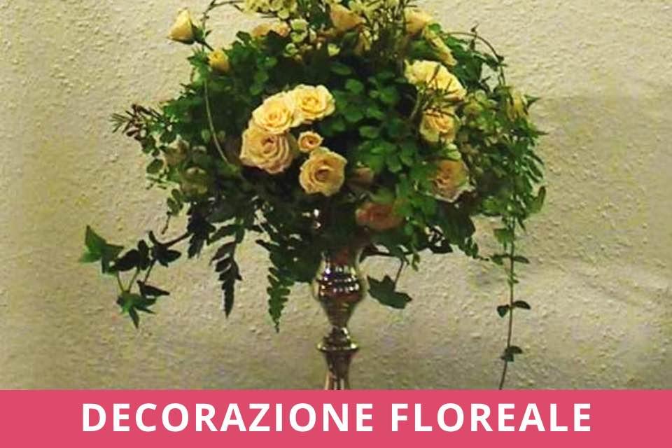 Decorazione Floreale - Atelier - Decorare un Candeliere - Novembre 2021